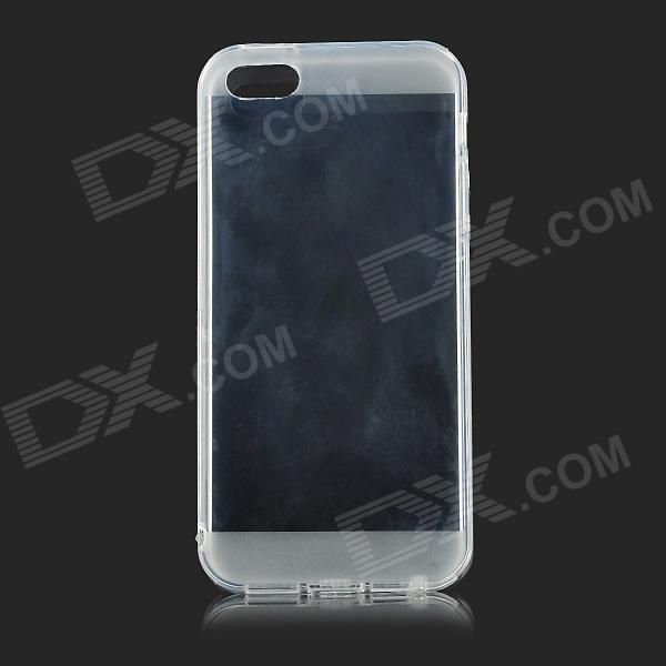 Color: Transparent; Quantity: 1 Piece; Material: Silicone; Shade Of Color: Transparent; Compatible Models: IPHONE 5S,IPHONE 5; Design: Transparent; Style: Back Cases; Packing List: 1 x Back case; http://j.mp/1ljTWAs