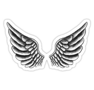 Justin Bieber Wings Tattoo Stickers