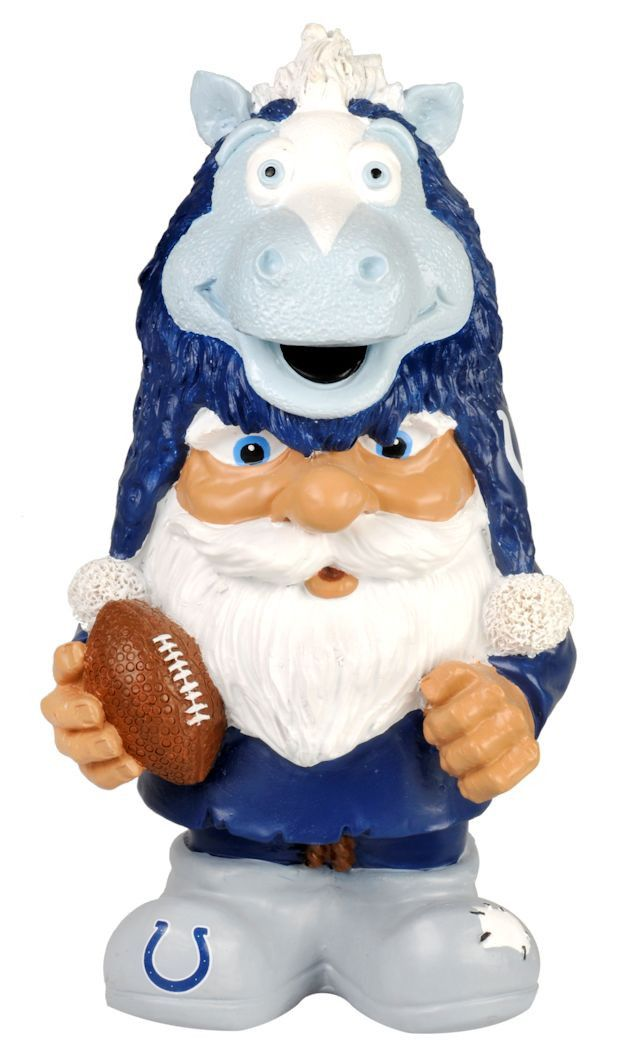 Indianapolis Colts Mad Hatter Gnome