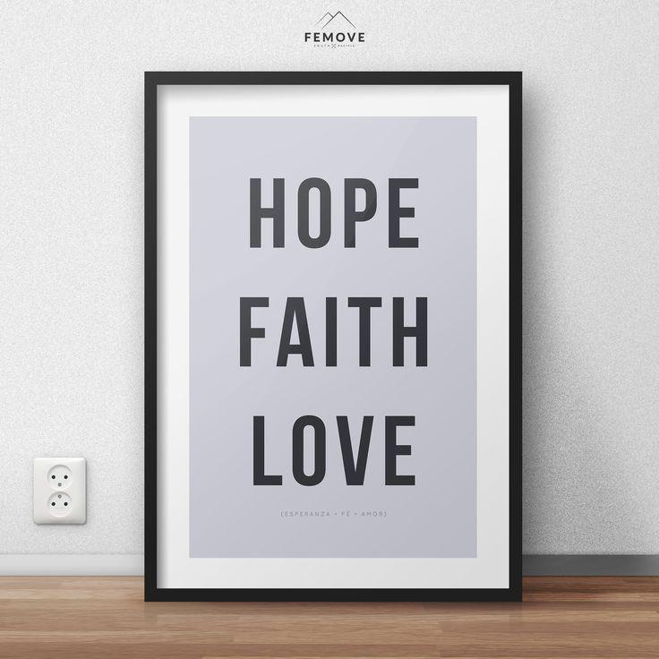 HOPE+FAITH+LOVE