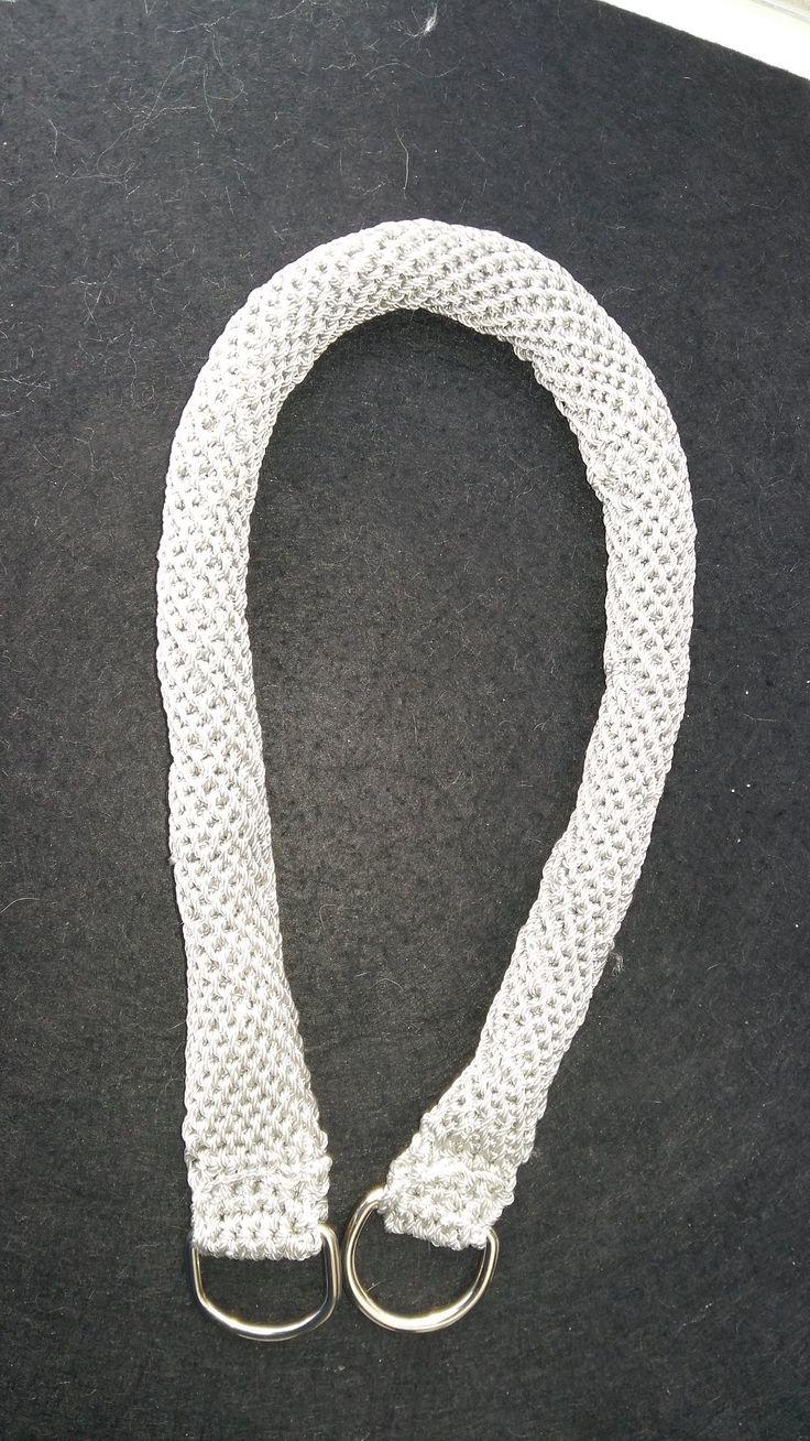 #DY# Tutorial de Asa Tubular o Circular a Crochet