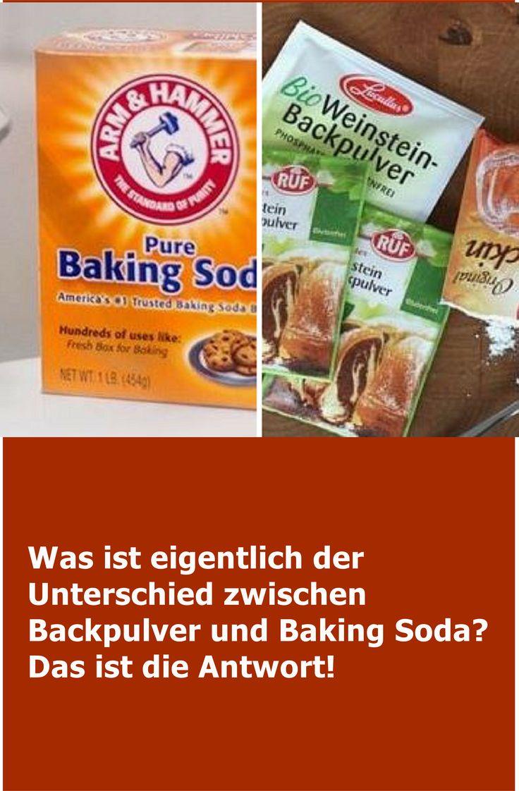 Was ist eigentlich der Unterschied zwischen Backpulver und Baking Soda? Das ist …