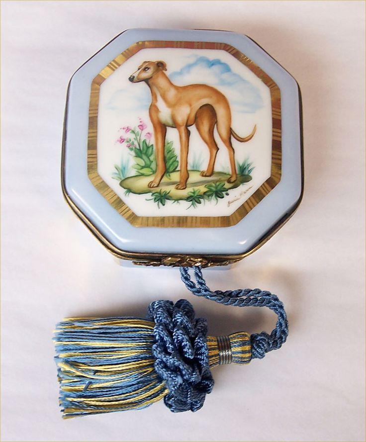 Pet Portraits - Page 1 - Limoges Porcelain, English Enamel Boxes, Pearls by Jessie Mann