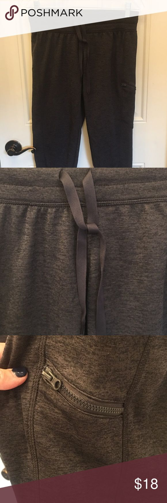 🎈Joggers/Lounge Wear🎈 🎈Champion Joggers/Lounge Wear. Dark Gray with drawstring waist. Tapered ankles. These are Capri type work-out pants. Has a zipper pocket to hold money, keys, cell. Has NEVER BEEN WORN. 🎈                                            🧡NWOT🧡 Champion Other