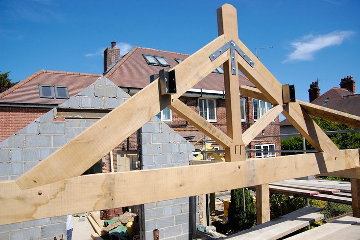 We are often commissioned to supply roof trusses of different types for various architects and builders. They add a great feature to a new build or renovation project. Using traditional methods and techniques often working in Oak or Douglas Fir, we can create some stunning architectural finishing pieces for our clients projects. Trusses such as these can be prefabricated and then transported, assembled or craned into place.