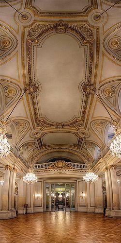 Palacio de la Legislatura de la Ciudad de Buenos Aires. Argentina