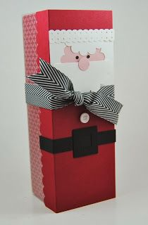 Laura's Works of Heart: CHRISTMAS TAG A BAG GIFT BOXES: