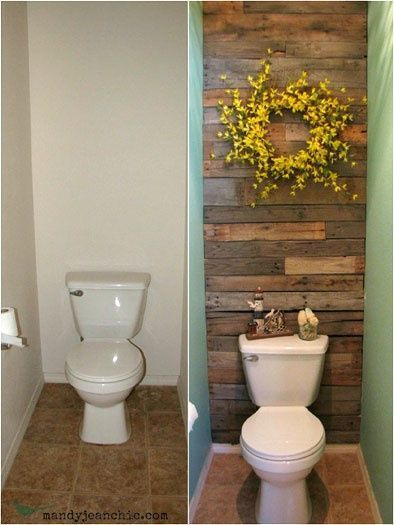 Small Bathroom Makeovers, Guest bathroom | http://bathroomdecor310.blogspot.com