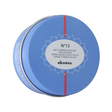 N°13 Mat Forming Ground.    Gives structure and body to hair, makes it easy to control and gives that sought-after rough look. Suitable for medium-short hair, to create your own unique, creative look.    Natural Active Ingredients:  Kaolin - mineral clay that create the matt effect;  Last generation of resins - for an immediate and extra strong hold.