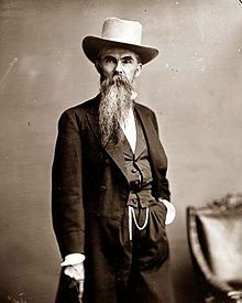 """William Mahone (December 1, 1826 – October 8, 1895) was a civil engineer, teacher, soldier, railroad executive, and a member of the Virginia General Assembly and U.S. Congress. Small of stature, he was nicknamed """"Little Billy"""".  Served as a Brigadier General for the CSA during the Civil War.  Best known for leading a counter charge at the Battle of the Crater in Petersburg."""