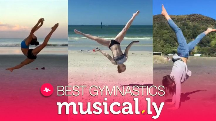 Best Gymnastics Musical.ly Videos Compilation of June 2017 - YouTube