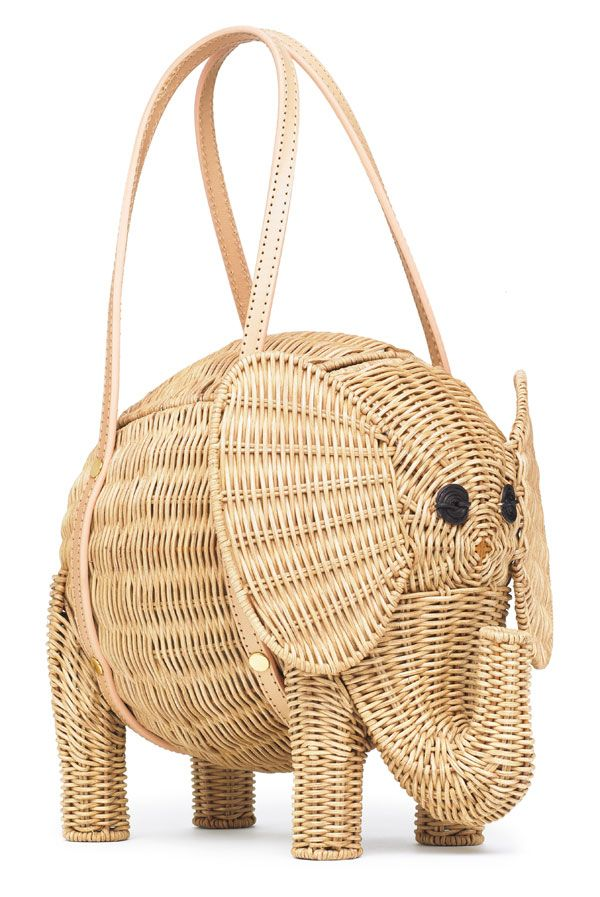 A wicker elephant, what's not to love?