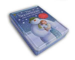 Sneeuwman - Bewaarblik + miniprentenboek, poster, kleurboekje en dvd, Raymond Briggs-Raymond Briggs