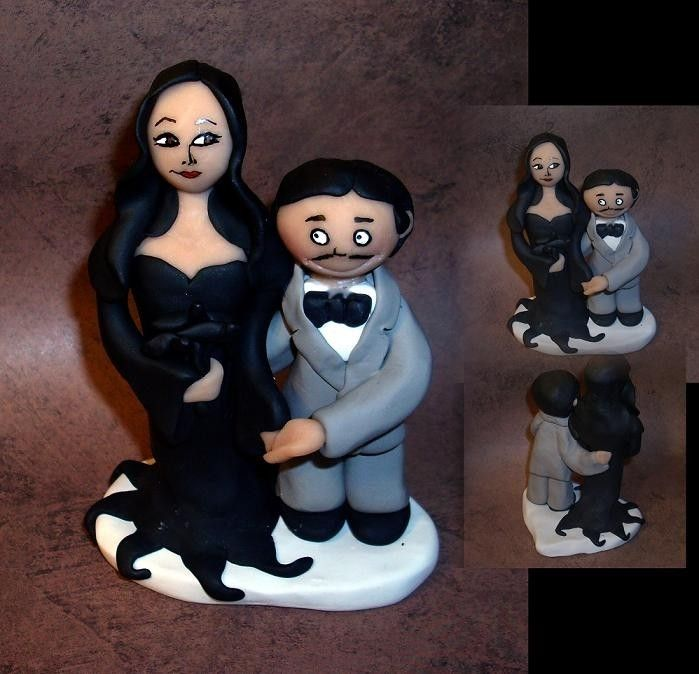 addams family wedding cake family wedding cake topper 10539