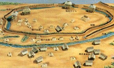 Yayoi-era village model