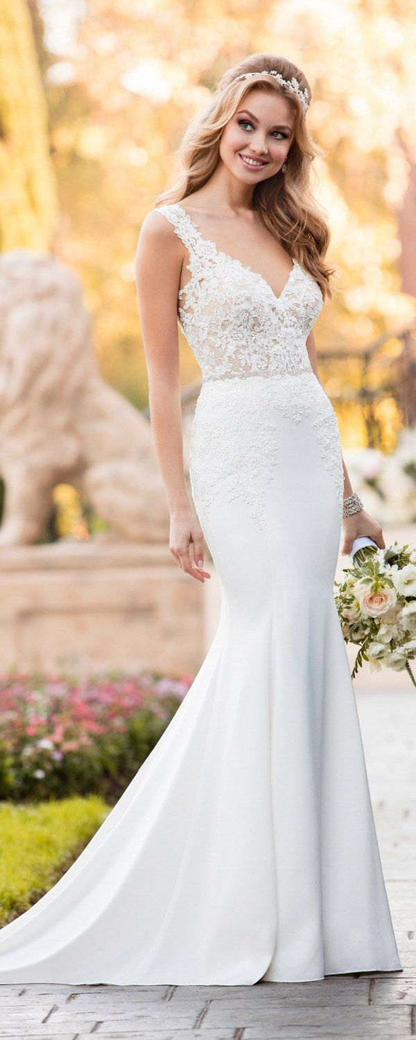 Stella York Wedding Dresses / http://www.deerpearlflowers.com/stella-york-wedding-dresses/  ❤️ #laceweddingdresses #weddingdress #bridaldress