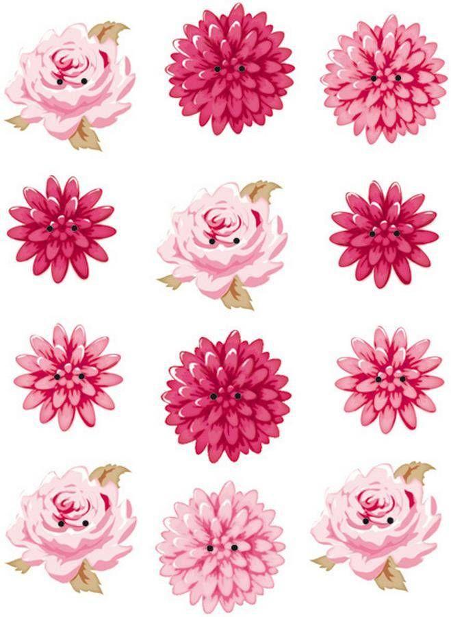 Tilda Paper lines | Tilda Tilda extra buttons for decoration flowers, ø 17-20 mm.