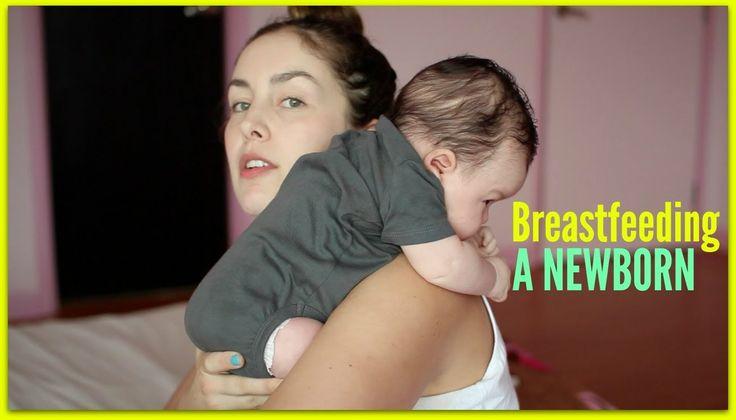 Breastfeeding a Newborn | AmandaMuse