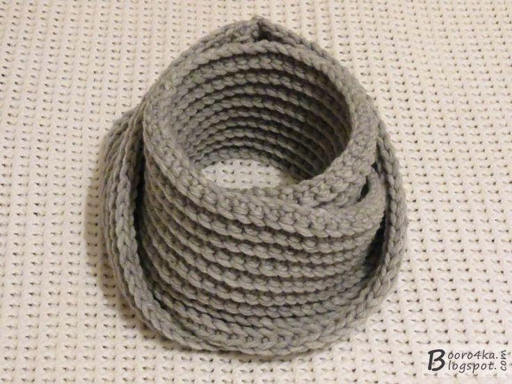 gancho de bufanda-LIC inusual y simple durante 2,5 horas
