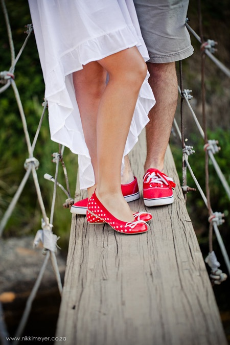 cute red shoes (photo by Nikki Meyer)