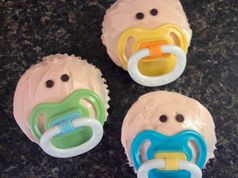 This is AWESOME for a Baby Shower!!  Babycakes ;)