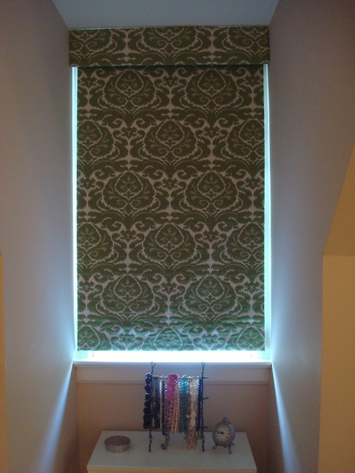 Homemade Valances For Windows : Ideas about diy roller blinds on pinterest
