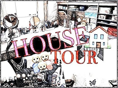 HOUSE TOUR (AVEC MEUBLES) l MOM2BE