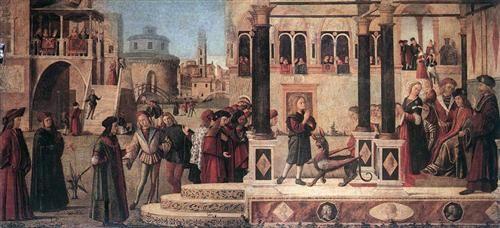 1507 - The Miracle of St. Tryphonius - Vittore Carpaccio