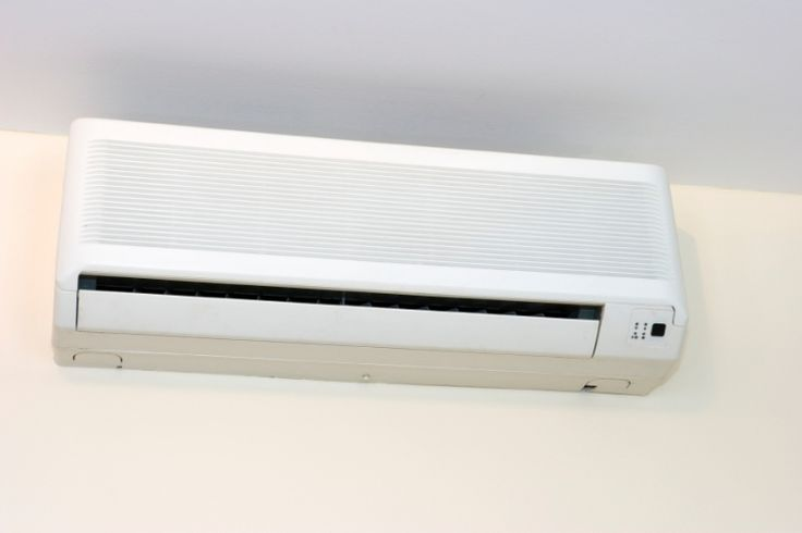 A ductless mini-split air conditioner is one solution to cooling part of a house.