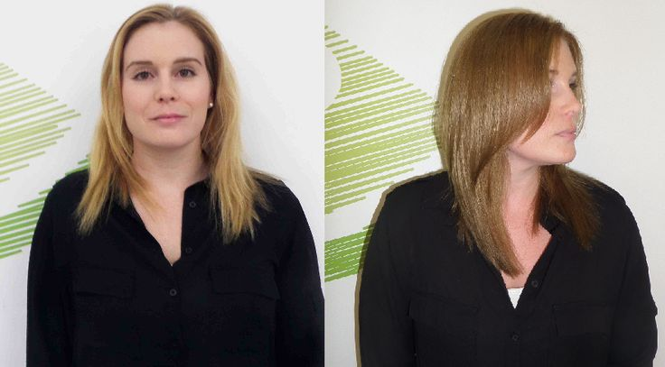 Hair Colour correction by Jasmine Harquail. Another bleached summer blonde head of hair gets rescued!