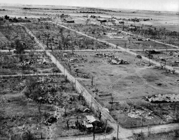 WWII destruction San Jose City, Central Luzon Island, Philippines, February 1945 | by J. Tewell