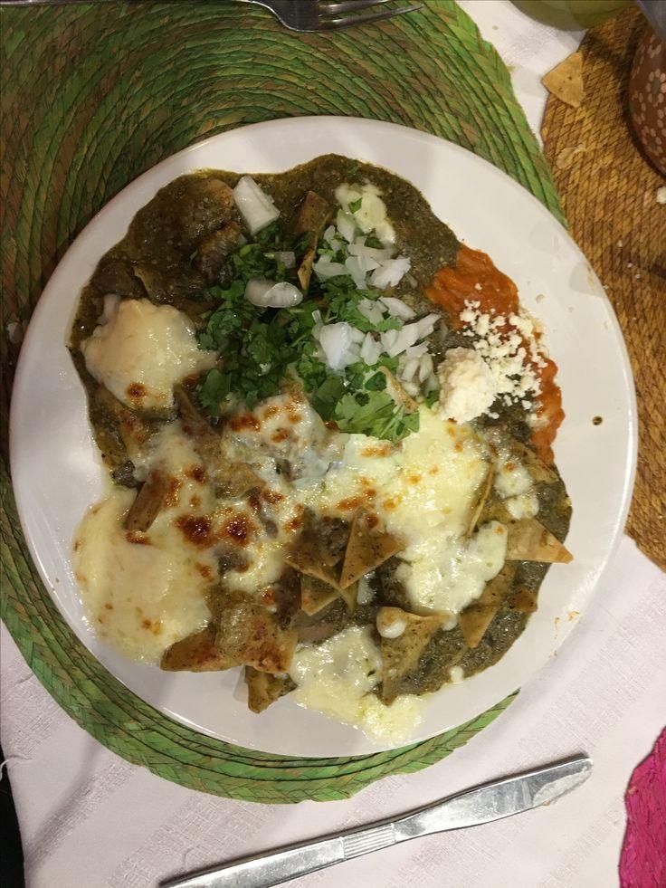 Chilaquiles verdes con lengua - Los chilaquiles - Guadalajara