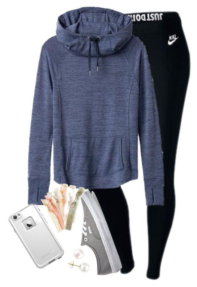 """I strongly dislike mrs. rutland:)))))"" by elizabethannee ❤ liked on Polyvore featuring NIKE, Athleta, Vans, LifeProof and Miadora"