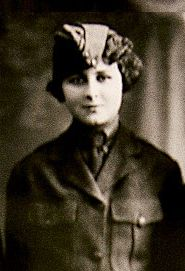 "Opha Mae Johnson (1900-1975) was the first woman to enlist in the United States Marine Corps, on August 13, 1918 (305 women joined that day). When she became a Marine, she was given a category of ""F"" (for female). In those days women were allowed to enlist but were not allowed to serve in war zones. It would not be until 1967 that the first female Marine was allowed to serve in a war zone."