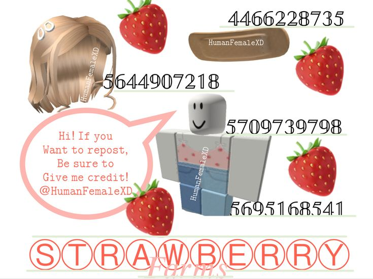 Strawberry Farms Outfit Codes Coding Roblox Roblox Coding For Kids