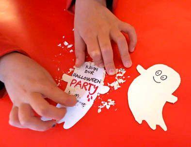 Gesit Spielt Rubbellos: Halloween Einladung Zum Freirubbeln: Http://www.