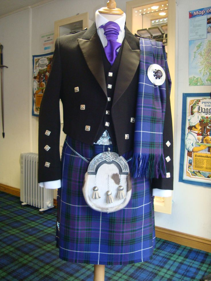 #Pride of Scotland Tartan - Kilt Hire Outfit with Plaid