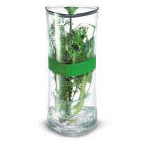 Cooking   Specialty Kitchen Tools   Sur La Table $19 http://www.surlatable.com/product/PRO-685040/Cuisipro+Compact+Herb+Keeper