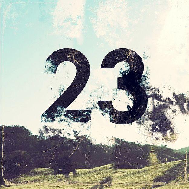 Новогоднюю, картинка с числом 23