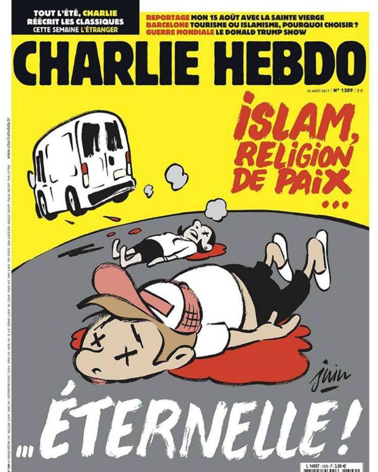 Atentado en Barcelona: Charlie Hebdo  Archivado en: España Humor