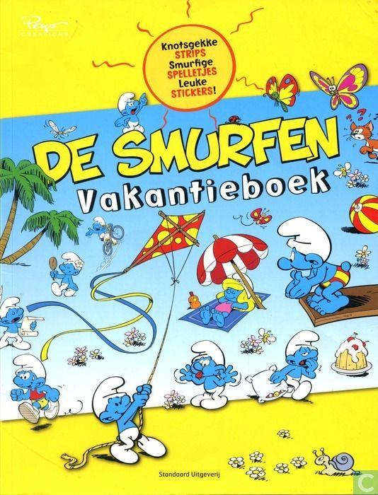 Strips - Smurfen, De - De Smurfen Vakantieboek
