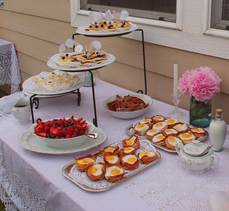 Bridal Shower Brunch Menu {you Can Never Go Wrong With