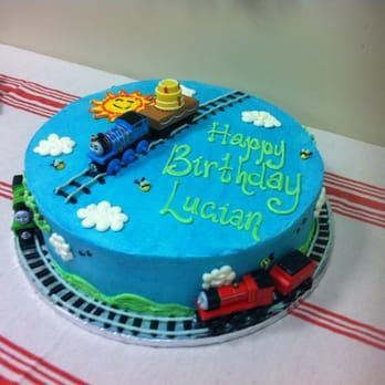 Thomas and Friends birthday cake! - Yelp