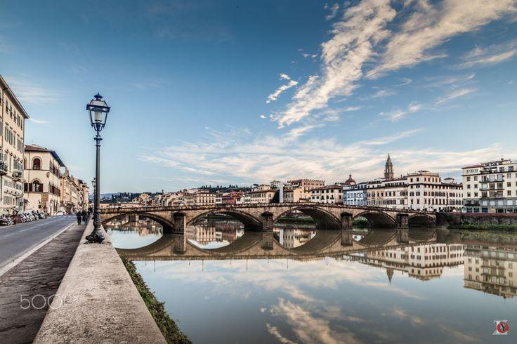 Ponte Santa Trinita & Arno River by Andrey Padenko on 500px