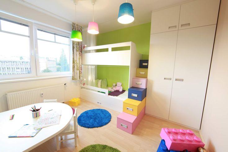 Jeden pokoj, více dětí. 7 tipů pro sourozenecké pokoje