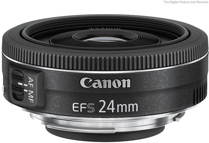 #5) The Canon EF-S 24mm f/2.8 STM Pancake Lens is the first Canon pancake-designed lens compatible with EOS DSLR cameras. It's strength is in it unobtrusiveness, allowing for a less intimidating perception from the subjects, or other observers.