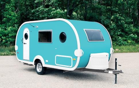 Ultra Light Travel Trailers >> Tab Trailer. Not vintage, brand new! | Camping | Pinterest ...