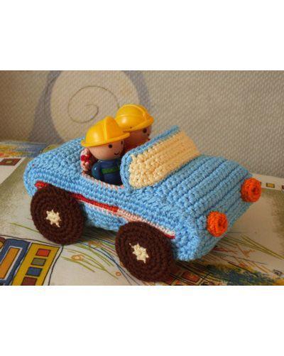 Crochet car toys