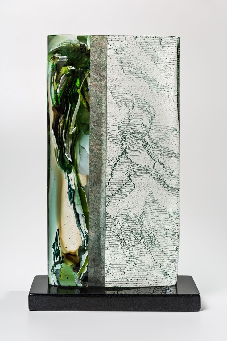 Morgan contemporary glass gallery images for weston lambert emerald ghost