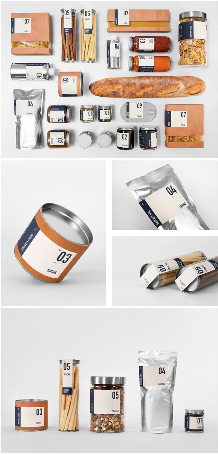 Concept: The Good Store - Food Products
